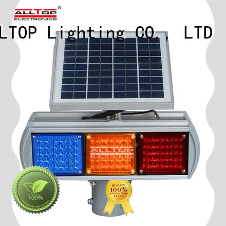 high quality solar traffic light factory for police