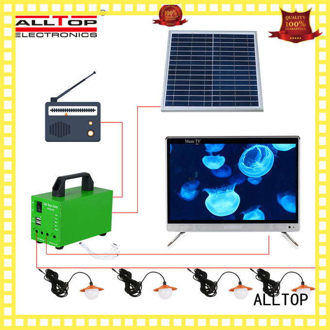 battery energy system backup ALLTOP Brand solar led lighting system supplier