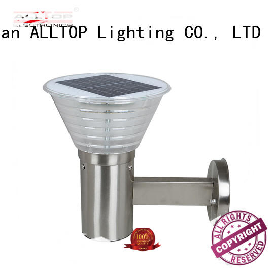 solar wall downlights washer for garden ALLTOP