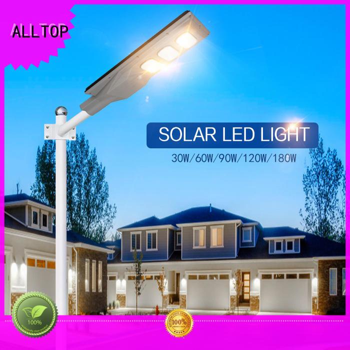flood integrated solar light motion for highway ALLTOP