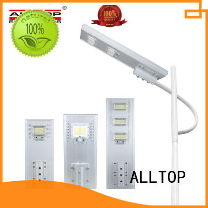 ALLTOP solar pole lights free sample for road