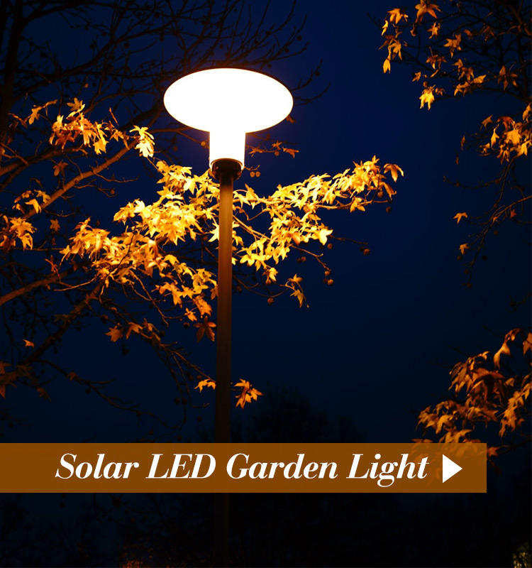 ALLTOP -20w Solar Street Light | Alltop High Lumen Solar Led Garden Pillar Lamp-1