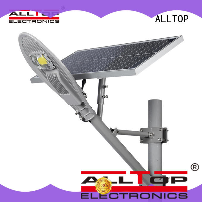 die-casting 50w ip65 solar led street light latest design for outdoor yard ALLTOP