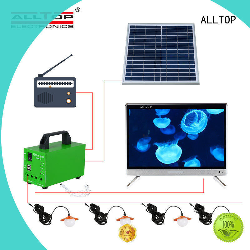 emergency solar lighting system at discount for outdoor lighting ALLTOP