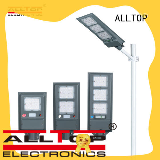 ALLTOP adjustable integrated solar street light price for highway