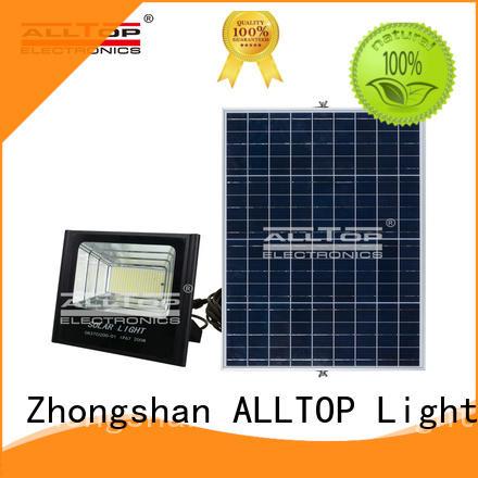 ALLTOP Brand foldable spotlight solar flood lights manufacture