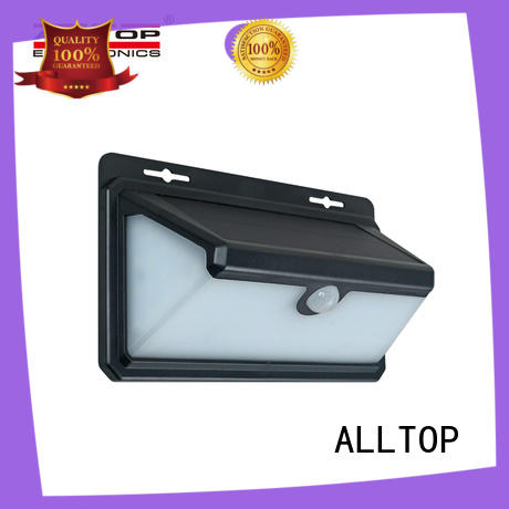 ALLTOP solar pir wall light directly sale for camping