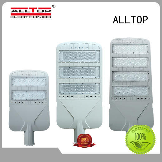 ALLTOP aluminum alloy led street lights free sample