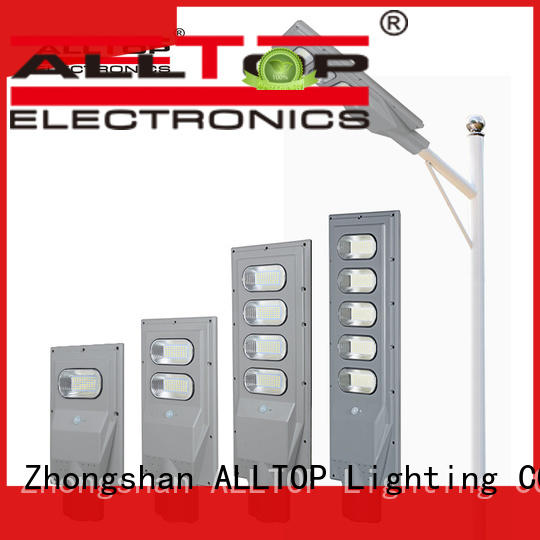 ALLTOP integrated outside solar lights free sample for garden