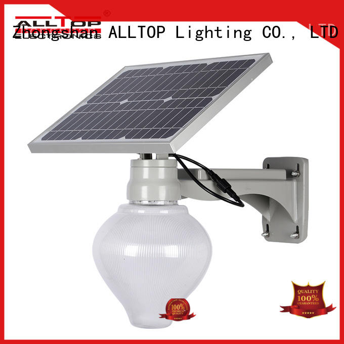 motion sensor solar powered street lights residential latest design for lamp ALLTOP
