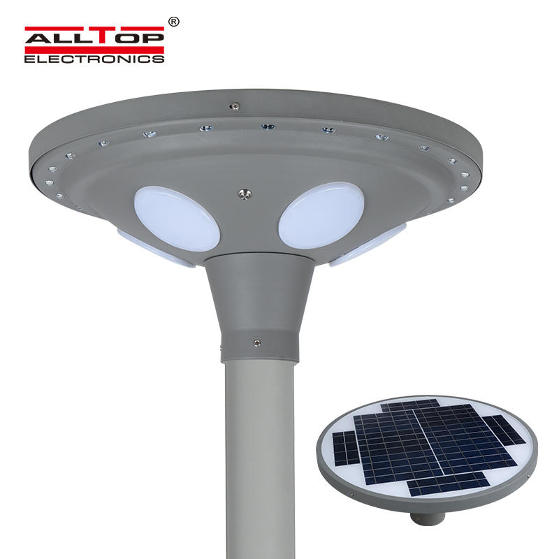 ALLTOP energy saving solar powered light post at discount for decoration-1