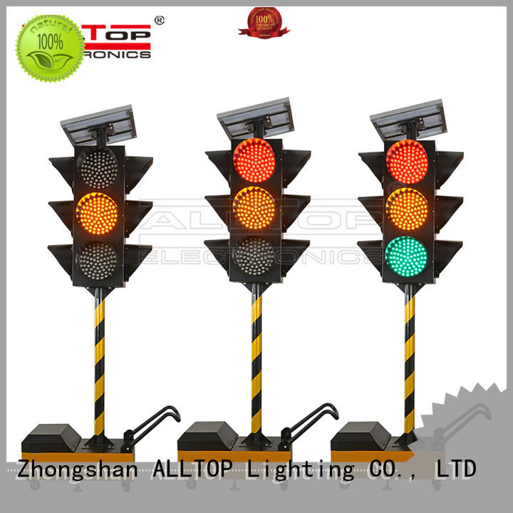 low price solar powered traffic lights company series for police