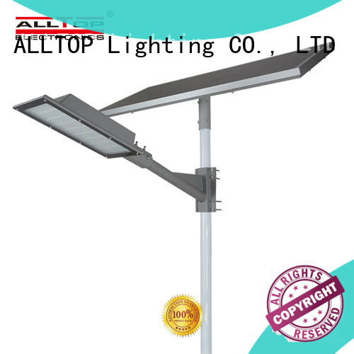 Hot street solar street light manufacturer cob ALLTOP Brand