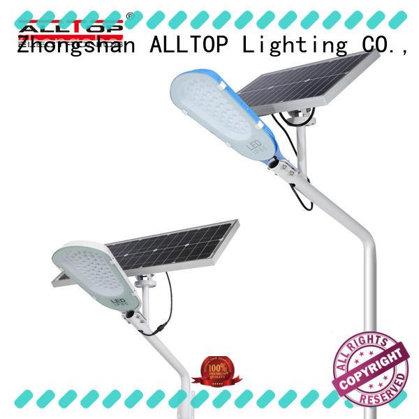 ALLTOP solar led street lamp supplier for garden
