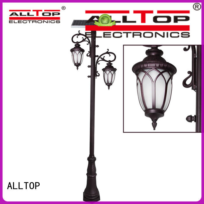 ALLTOP integrated solar garden lamps classical for decoration