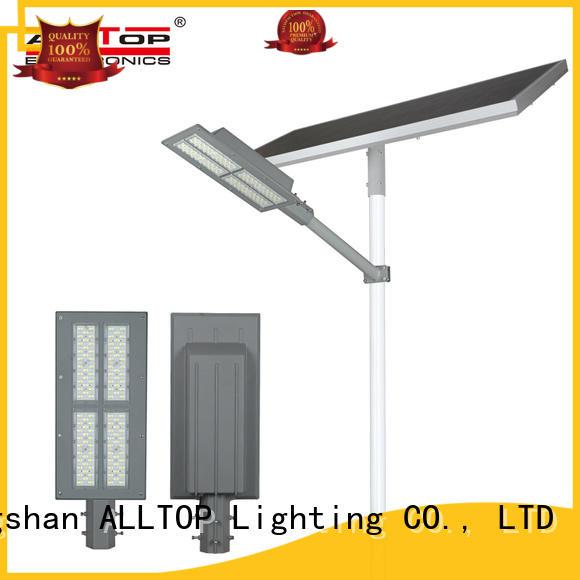 ALLTOP waterproof 12w solar street light factory for landscape