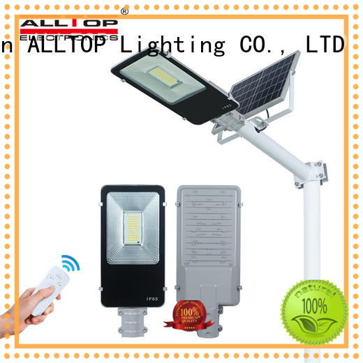 energy-saving solar led street light factory for landscape