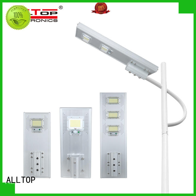 ALLTOP all in one solar street courtyard light with good price for garden