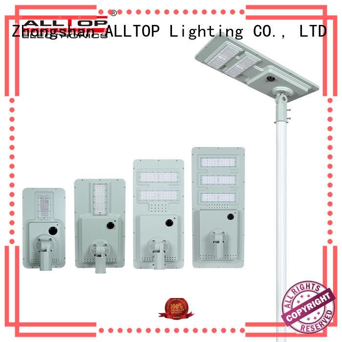 ALLTOP integrated solar street light manufacturer for road