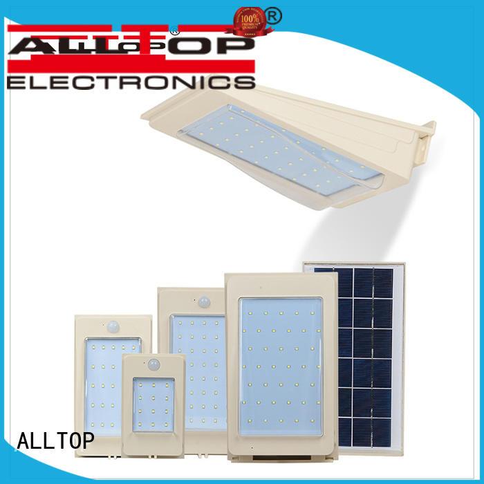 ALLTOP washer solar pir wall light certification highway lighting