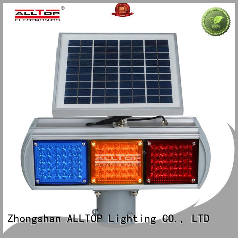 barricade quality signal solar traffic light ALLTOP Brand company