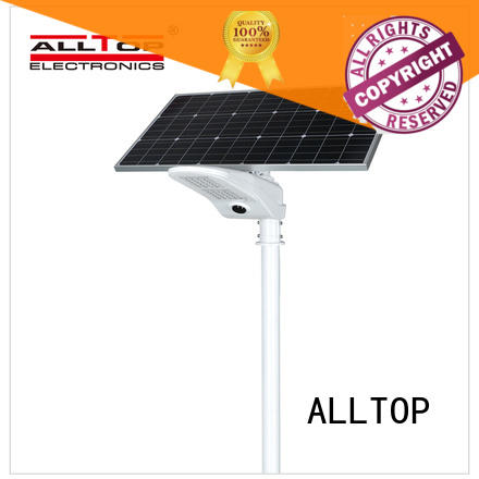 solar led street lamp shining rightness for outdoor yard ALLTOP