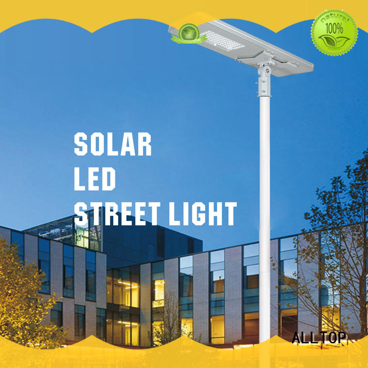 led lights for home outdoor aluminum solar ALLTOP Brand company