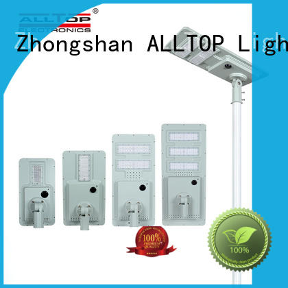 ALLTOP solar pole lights with good price for road