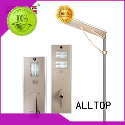 ALLTOP flood all in one integrated solar street light long lifespan for highway