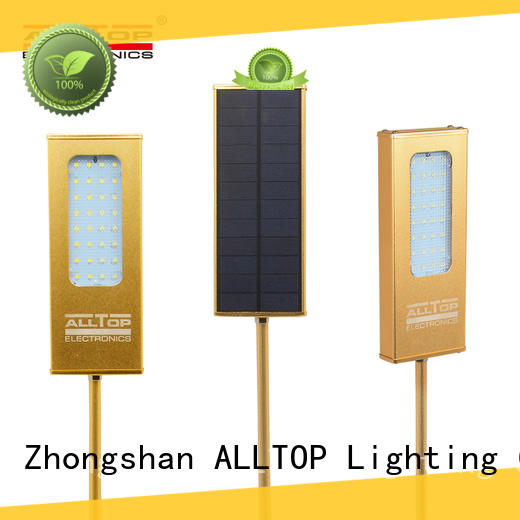 ALLTOP outdoor solar pir wall light wide usage for party