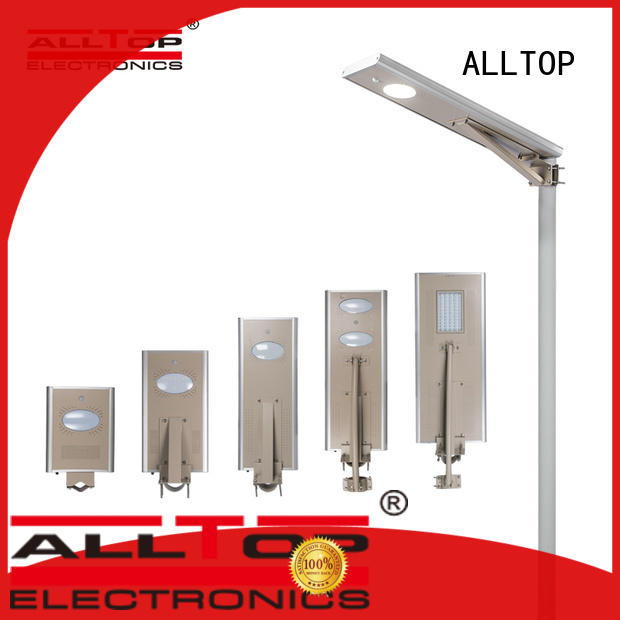 ALLTOP outdoor solar street light with motion sensor for garden