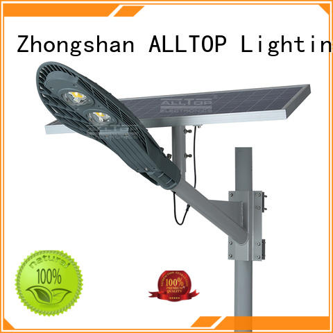 led solar street lamp light ALLTOP company