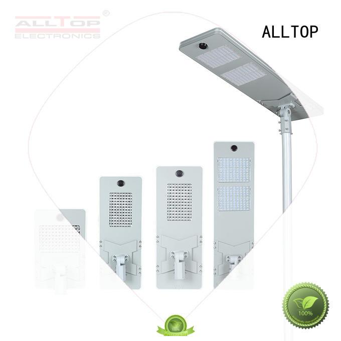ALLTOP integrated street light factory price for garden