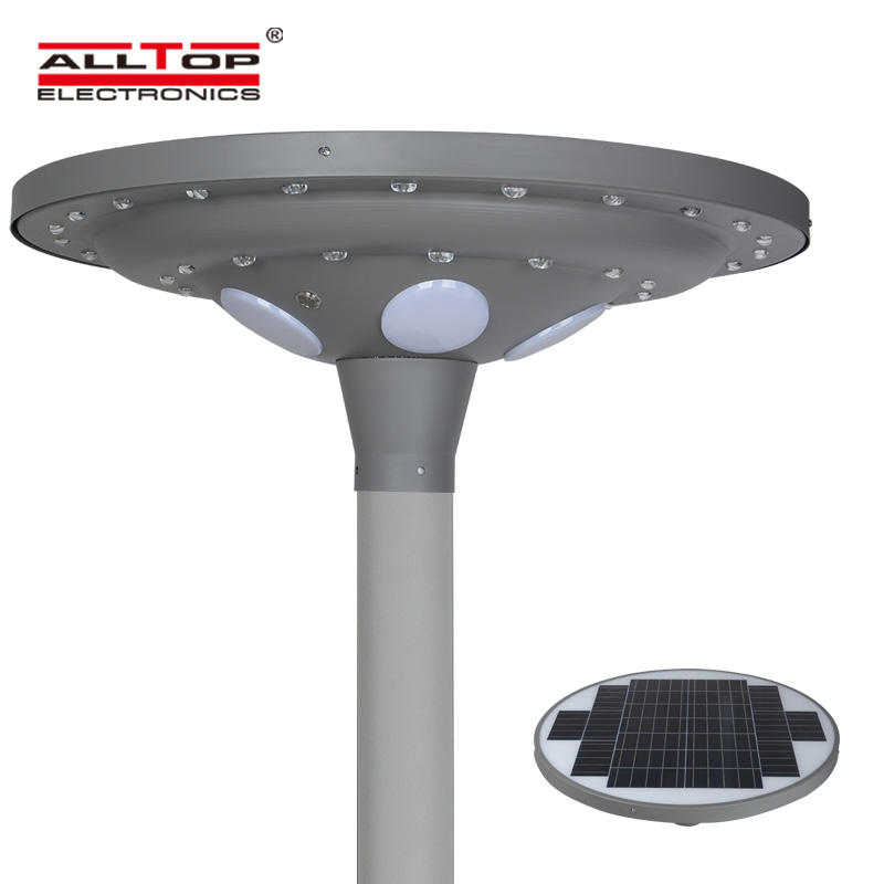 ALLTOP energy saving solar powered light post at discount for decoration-2