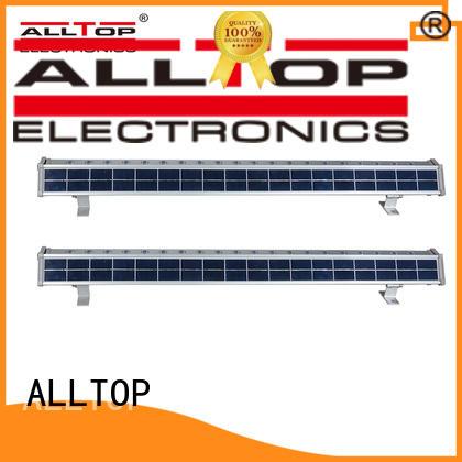 ALLTOP waterproof solar wall lamp certification for camping