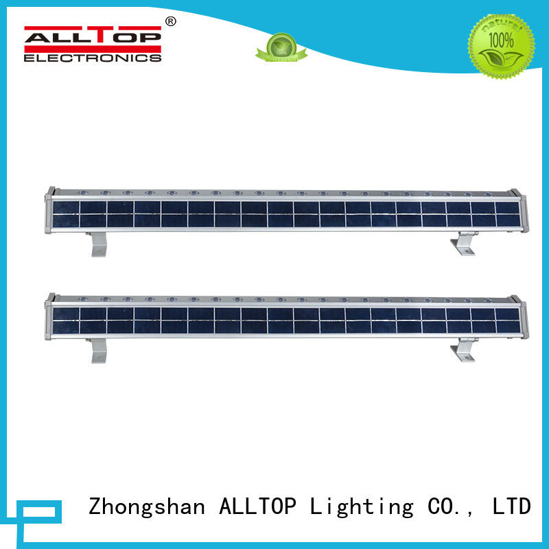 ALLTOP solar led wall pack directly sale for garden