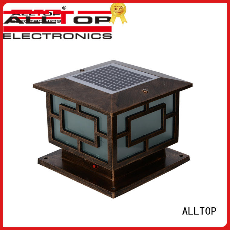 ALLTOP integrated solar yard lights for business for decoration