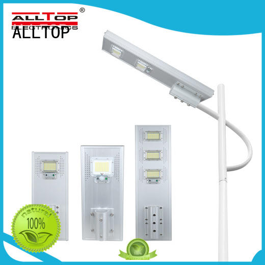 ALLTOP solar pole lights factory price for road