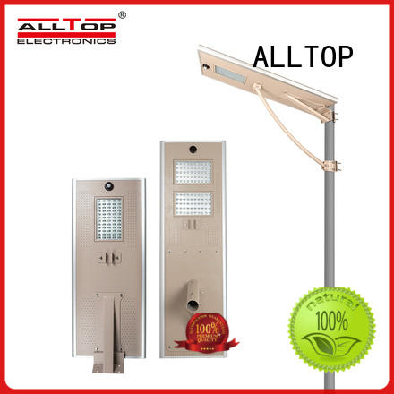 ALLTOP energy-saving solar pole lights manufacturer for highway