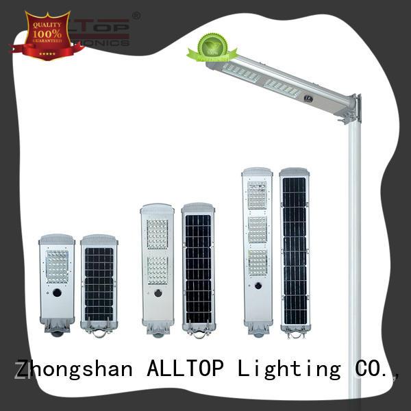 sensor solar street light free sample for highway ALLTOP