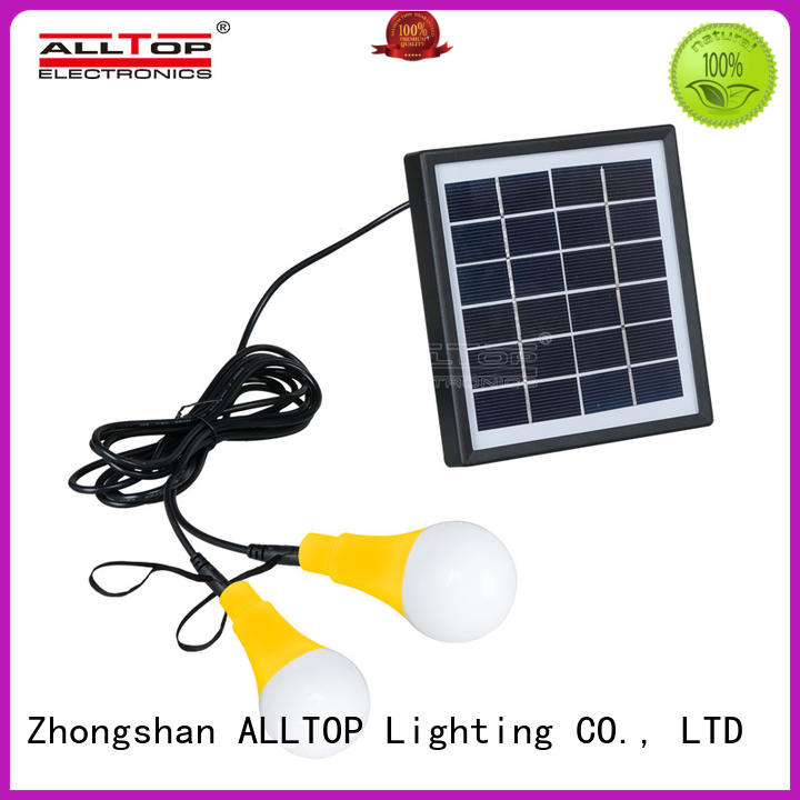 ALLTOP modern solar wall lantern wide usage for camping