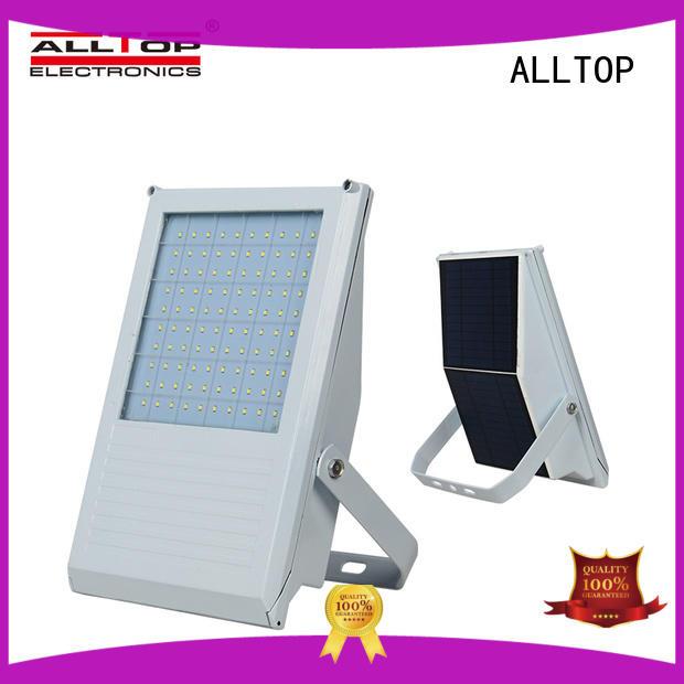 energy-saving commercial solar flood lights custom for spotlight ALLTOP