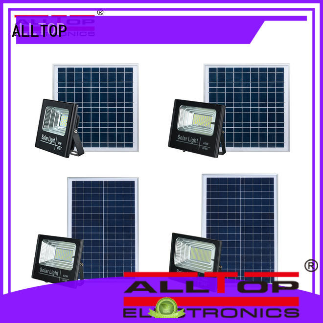 ALLTOP solar sensor flood lights for business for stadium
