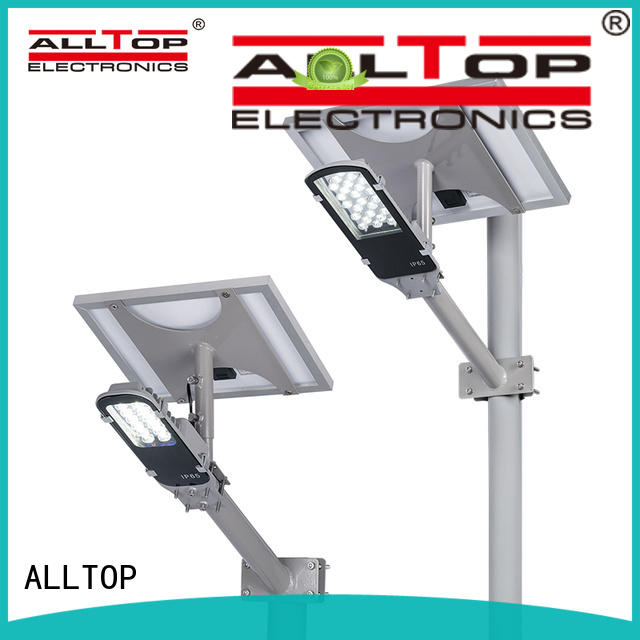 ALLTOP 60w solar street led lighting latest design for outdoor yard