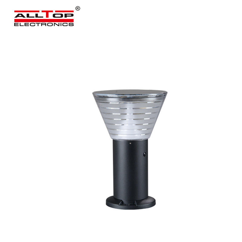 ALLTOP 5watt waterproof ip65 outdoor all in one solar led garden lamp light price-2