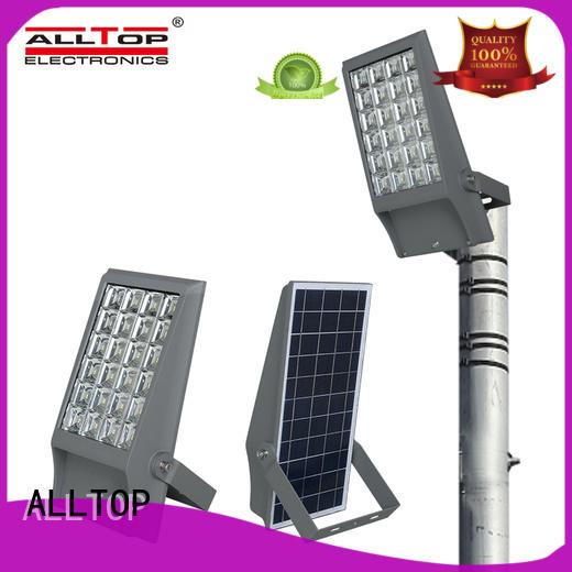 solar flood lights with remote outdoor brightness for stadium ALLTOP