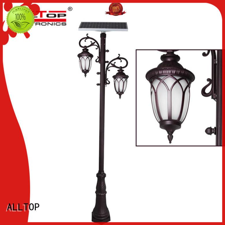 energy saving solar pillar lights supply for decoration