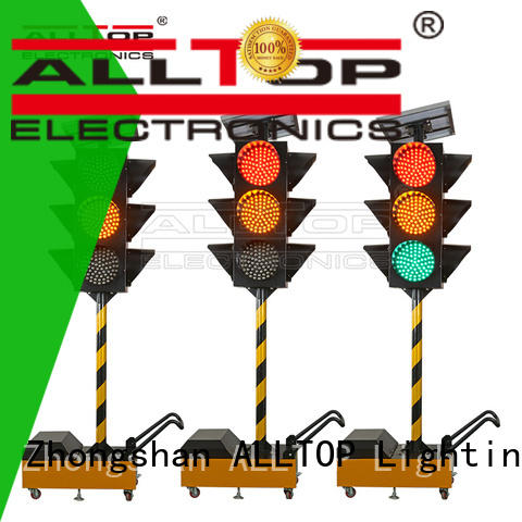 ALLTOP solar traffic signal wholesale for police