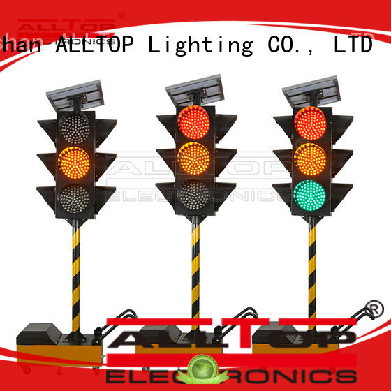 ALLTOP low price solar traffic signal led for police