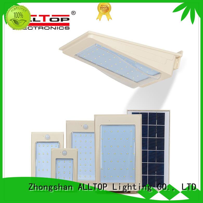 waterproof solar pir wall lightportablefor party